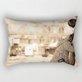 我的梦里 Rectangular Pillow