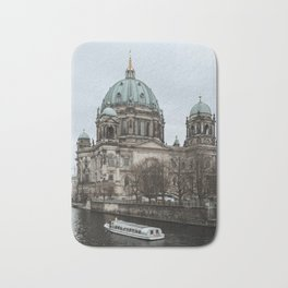 Boat ride in the Spree in Berlin Bath Mat