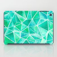 emerald iPad Cases featuring Emerald by Jamworth