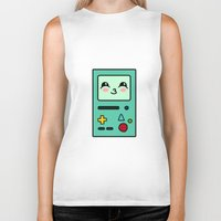 bmo Biker Tanks featuring BMO by Janice Wong