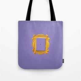 Purple Yellow Door Frame Tote Bag