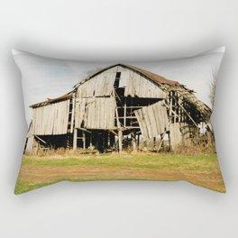 Tobacco Barn Rectangular Pillow