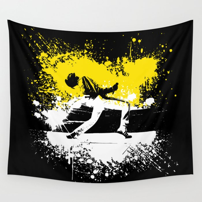 Queen Freddie Wall Tapestry