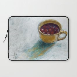 Cherry compote in my cup Laptop Sleeve