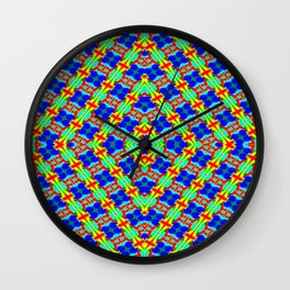 00607 Holiday-pattern Wall Clock