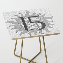 SPN Print (Grey) Side Table