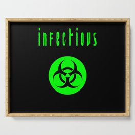 biohazard infectious Serving Tray