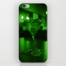 Martini green iPhone & iPod Skin