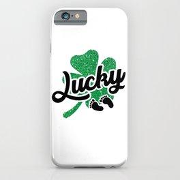 Lucky Irısh Baby iPhone Case