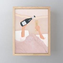 Morning Wine Framed Mini Art Print
