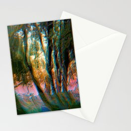Trippy Trees Stationery Cards