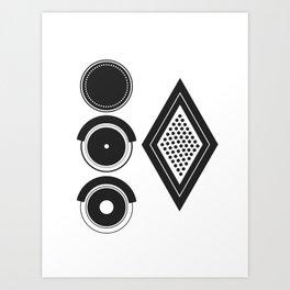 Attenzioni. Venice Series. Citofono 4 Art Print