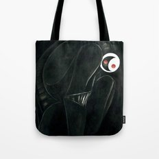 Moonbot #0: Black Tote Bag