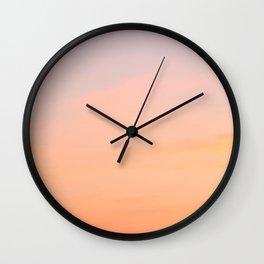 Evening Sky Wall Clock
