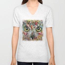 Mystic Owl Unisex V-Neck