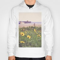 daisies Hoodies featuring Daisies by AnchorMySoul