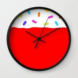 Jelly 'n' Sprinkles Wall Clock