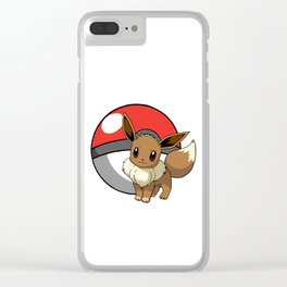 Eevee Clear iPhone Case