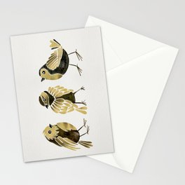 24-Karat Goldfinches Stationery Cards
