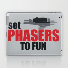 Set Phasers to Fun! Laptop & iPad Skin