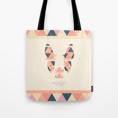 Boston Terrier: Triangles. Tote Bag