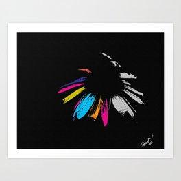 therainbowflower Art Print