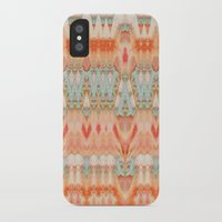 peach iPhone & iPod Cases featuring Peach by Zephyr