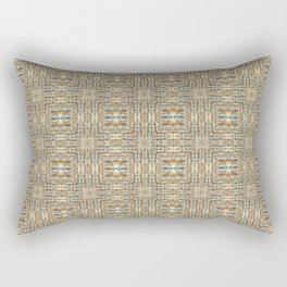 Digital Quilted Padded Lofts - Yellow Rectangular Pillow