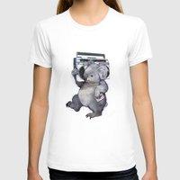 koala T-shirts featuring koala  by Laura Graves