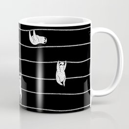 Sloth Stripe Coffee Mug