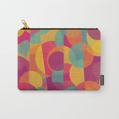 Abstract Circle Pattern - Colorful Dream Carry-All Pouch