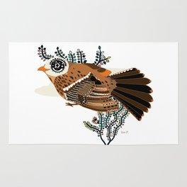 Brown Tanager Rug