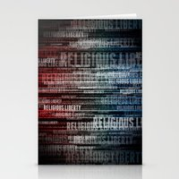religious Stationery Cards featuring Religious Liberty by politics