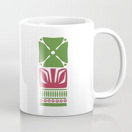Nordic Green Flower Coffee Mug