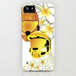 Grif and Sister - Hawaiin Royals  iPhone Case