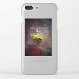 Find Yourself Clear iPhone Case
