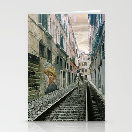 Surreal Venice Stationery Cards