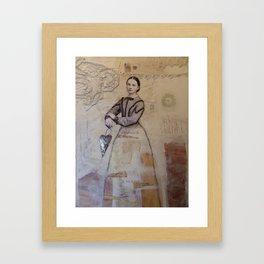 My Gentle History Framed Art Print