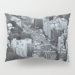 Tokyo from the Mori Tower Pillow Sham
