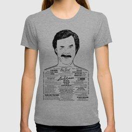 Ron Burgundy - Scotchy Scotch Scotch T-shirt
