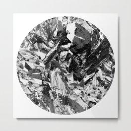 Mountain Circle Everest Metal Print