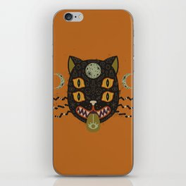 Spooky Cat iPhone Skin