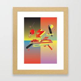 My Enemy Framed Art Print