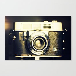 The heart and mind are the true lens of the camera Canvas Print