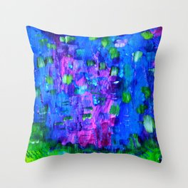 Color Expression 1 Throw Pillow