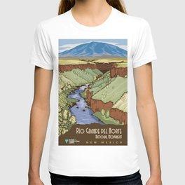 Vintage poster - Rio Grande Del Norte T-shirt