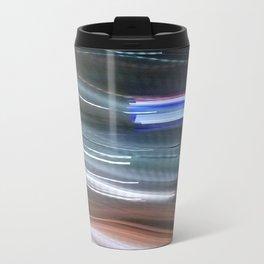 Blurred Lines Metal Travel Mug