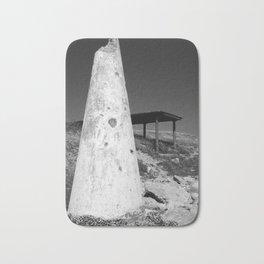 conical concrete structure Bath Mat