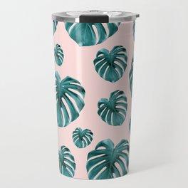 Tropical Monstera Dream #7 #tropical #pattern #decor #art #society6 Travel Mug