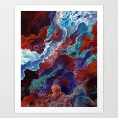A firestorm to purify Art Print